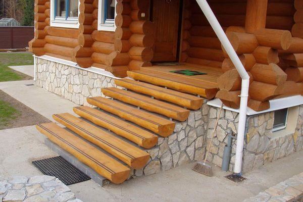 Строительство деревянных крыльца своими руками