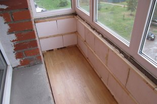 Как и чем утеплить балкон