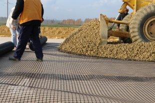 Применение геосетки в ремонте дорог