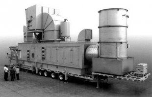 Турбина «на колесах» – мобильная ГТЭС