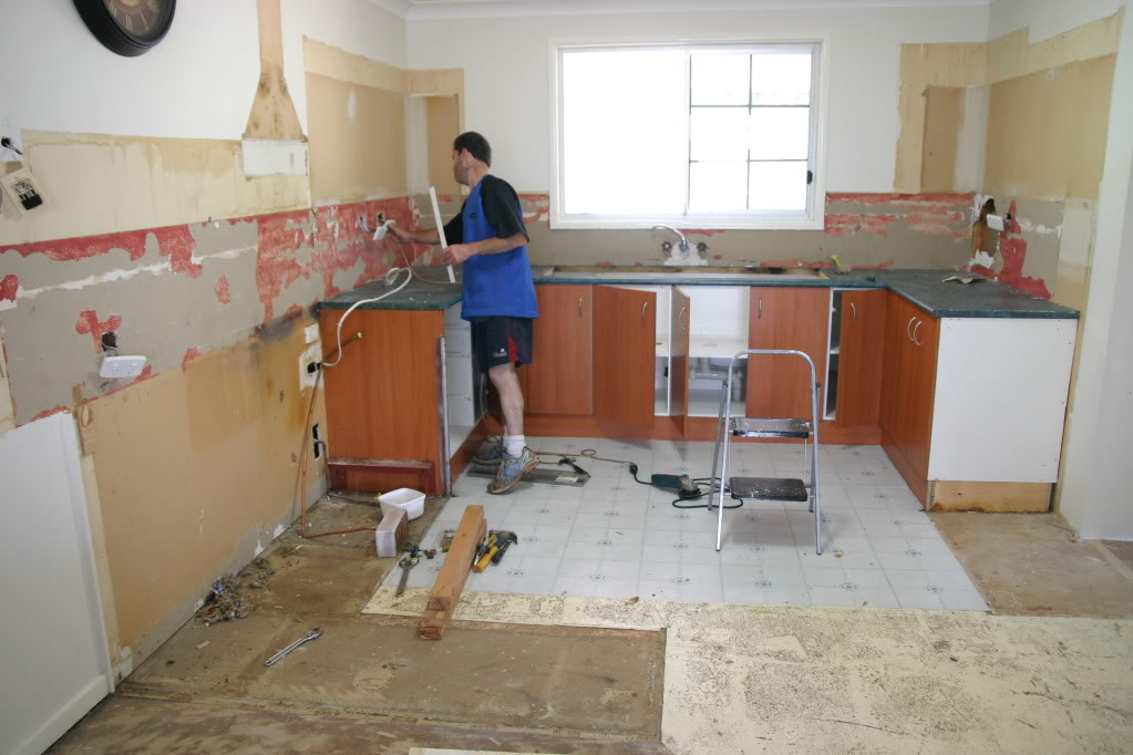 Делаю ремонт на кухне