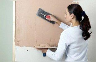 Как правильно наносить штукатурку на стены