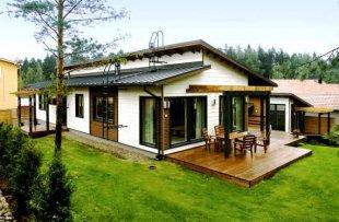 Как возвести финский каркасный дом