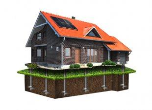 Строительство дома на винтовых сваях: особенности и способы отделки