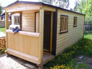 Критерии выбора дачной деревянной бытовки