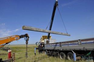 Технология и особенности установки электростолбов