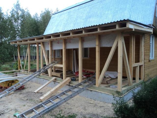 Rozšírenie terasy na existujúci dom