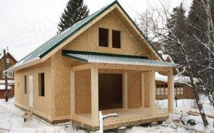 Особенности возведения каркасно-щитовых домов
