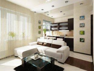 Тонкости дизайна интерьера квартиры-студии