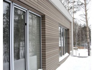 Фасадные панели из ДПК – удачное решение для отделки стен
