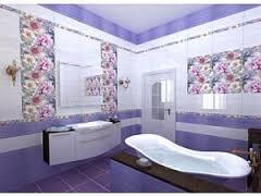 Особенности керамической плитки для ванной комнаты