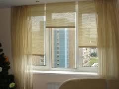 Варианты применения рулонных штор в интерьере