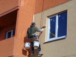 Правила выполнения покраски фасадов зданий