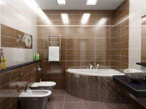Грамотное выполнение ремонта в ванной комнате